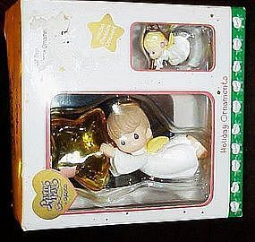 Enesco Precious Moments boxed Holiday ornament set