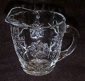 Anchor Hocking Star of david EAPG creamer