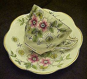 Rosina bone china cup and saucer set, England