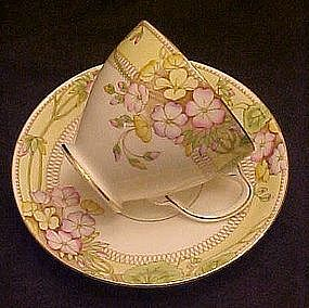 Sampson Smith old Royal china cup and saucer set