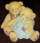 "Cherished Teddies ""Our engagement day"" double figurine"