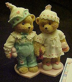 Enesco Cherished teddies, Craig and Cheri, Sweethearts