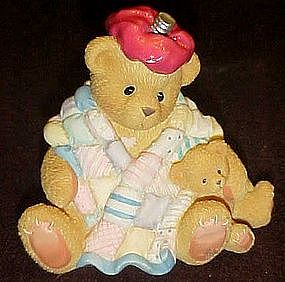 Enesco Cherished Teddies, Can't bear to see you under..