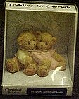 Cherished Teddies,  to cherish, Happy anniversary