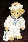 Cherished teddies, Navy, Absence makes friendships...
