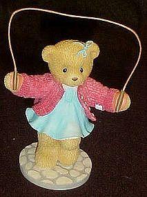 Cherished teddies, Melinda, I'm only a hop, skip.......