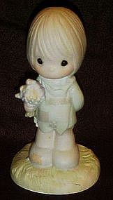 Enesco Precious Moments, I belong to the Lord figurine