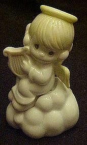 Precious Moments angel on a cloud salt & pepper shakers