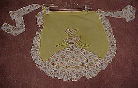 Vintage apron, Plantation girl
