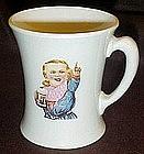 Original soda fountain mug,Hires Root beer, Hires Boy