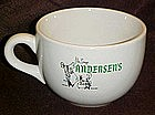 Large soup cup from Pea Soup Andersen's restaurant