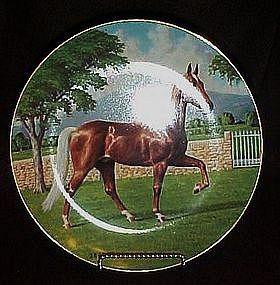 W.S. George Tennessee Walker plate by Donald Schwartz
