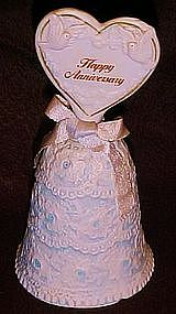 Enesco porcelain happy Anniversary bell