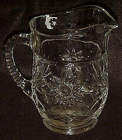 Early American Star of David juice pitcher