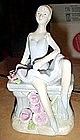 Lladro look ballerina figurine