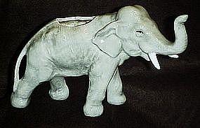 Vintage ceramic elephant planter