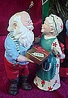 Hallmark  ornament, Gift Exchange, Mr. & Mrs. Claus