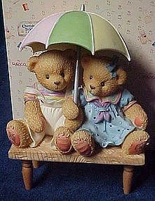 Cherished Teddies figurine Carter and Elise 302791