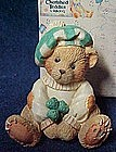"Cherished Teddies Sean ""Luck found me a friend in you"""