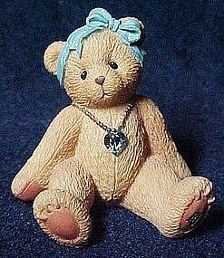 Cherished Teddies March, birthstone bear 1996
