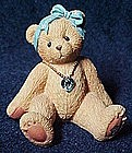 Cherished Teddies March, birthstone bear 1996