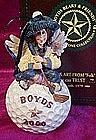 Boyds Bears Folkstone figurine, Birdie... Fore!!  MIB