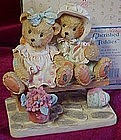 Cherished Teddies Tracie and Nicole, MIB