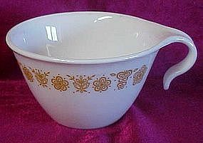 Corelle gold butterfly hook handle cup