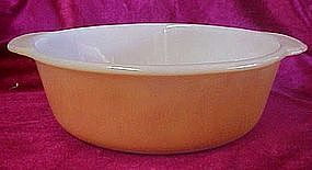 Anchor Hocking Fireking copper tint 2 qt casserole