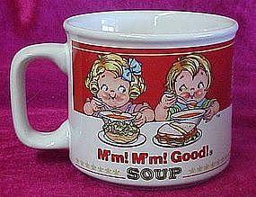 Campbells soup mug  M'm  M'm Good!