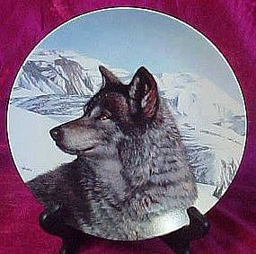 Lone Vanguard, wolf plate from Wild spirits series