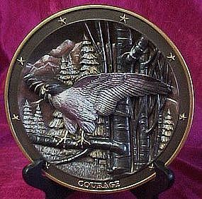Spirit of Courage plate, Sovereigns of the Sky series