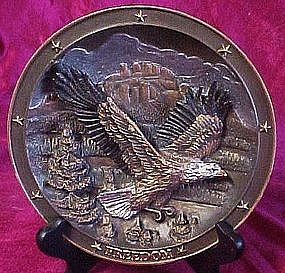 Spirit of Freedom plate, Sovereigns of the sky series