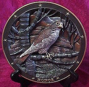 Spirit of Honor plate, Sovereigns of the sky series