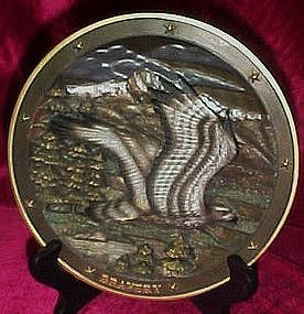 Spirit of Bravery plate, Sovereigns of the sky series