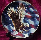 The American Eagle plate by Ronald Van Ruyckevelt