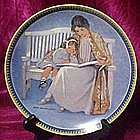 Mothers Day collector plate, Jessie Wilcox Smith