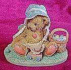 "Cherished Teddies Henrietta  ""A basketful of wishes"""