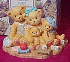 Cherished Teddies Wesley, Philip, Fiona, and Renee