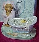 Cherished Teddies Kennedy, Rub-A-Dub-Dub figurine