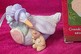 Hallmark ornament Grandchilds First Christmas 2001