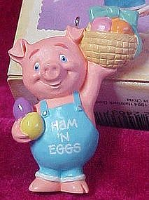 Hallmark Keepsake ornament Ham n Eggs 1995