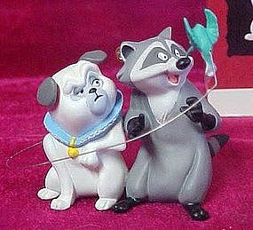 Hallmark Keepsake ornament, Percy, Flit, and Meeko