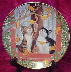 Fall Frolic at plate by Turi Mac Combie box & coa