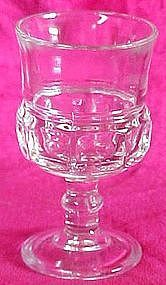 Indiana or Tiffin, Kings Crown clear cordial 3 5/8""