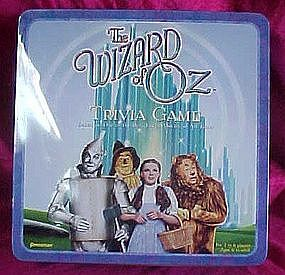 Wizard of OZ Trivia Game, in collector tin