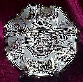 Worlds Fair Expo '76 Spokane WA ,  souvenir dish