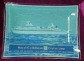 Royal Caribbean Cruise Line, souvenir candy dish