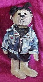 Pickford brass button bear Roxy, 20th century. 1980's