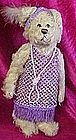 Pickford Brass buton bear Daisy, 20th century, 1920's